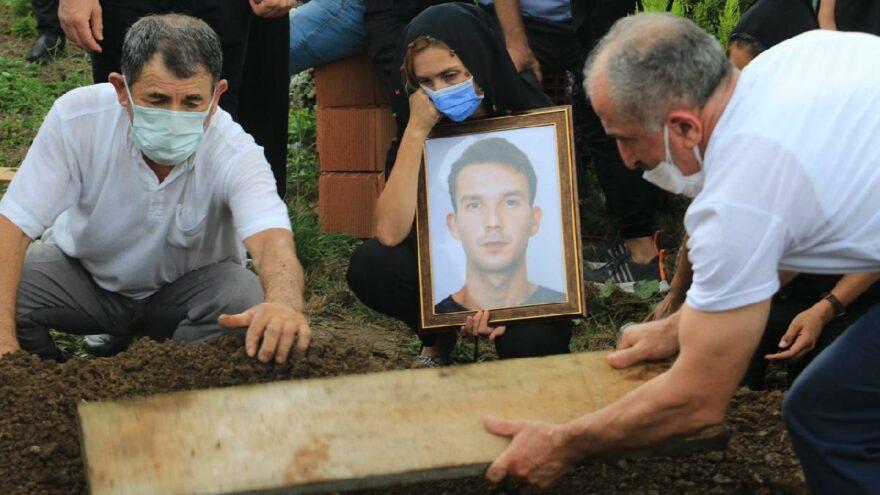 Ölü bulunan üniversiteli Samet'i böyle uğurladılar