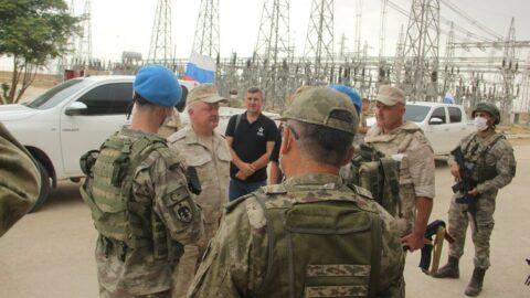 Türk ve Rus askerleri anlaştı