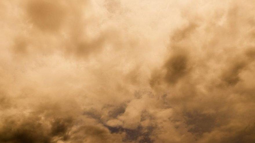 Meteoroloji'den 'toz bulutu' uyarısı: Olumsuzluklara karşı dikkatli olun