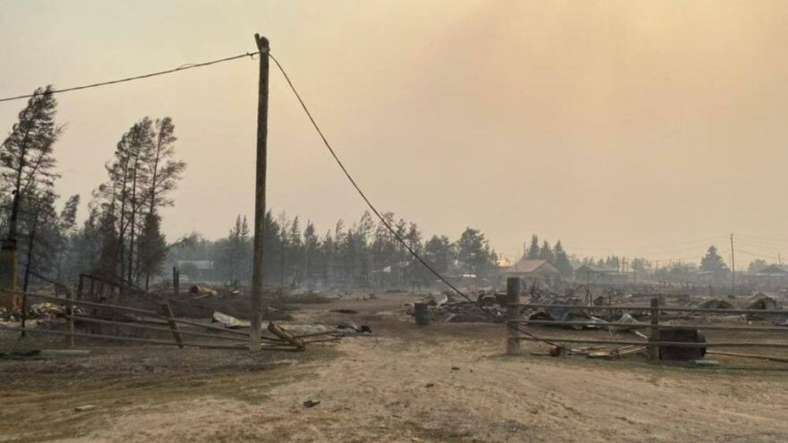 Rusya'daki orman yangınları büyüyor, ormanlar tahliye ediliyor