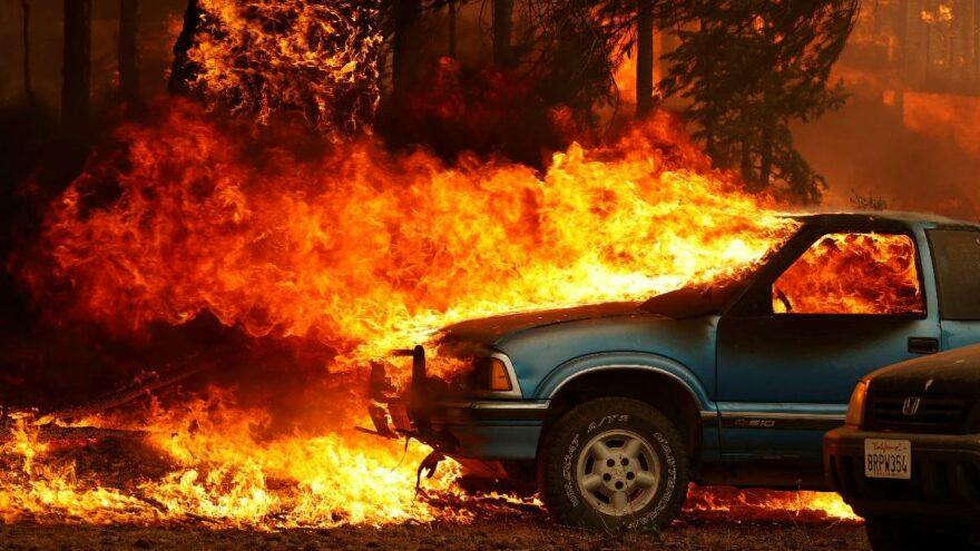 Kaliforniya tarihinin en büyük 2. yangını