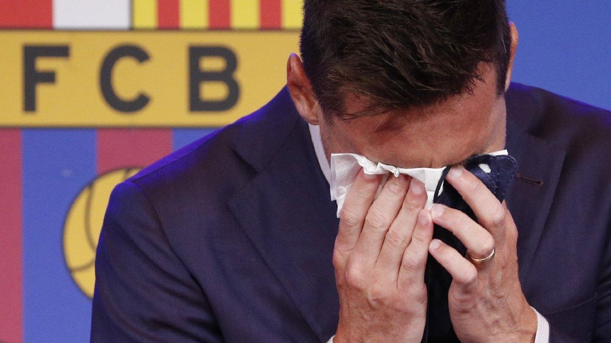 Lionel Messi'nin gözyaşlarının sebebi neydi?