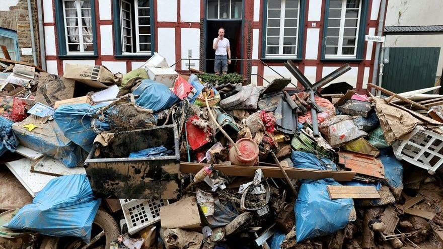 Almanya'da sel felaketine 30 milyar euroluk bütçe ayrılacak