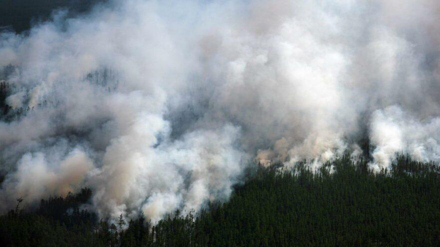 Dünyada bir ilk: Kuzey Kutbu'nu duman kapladı