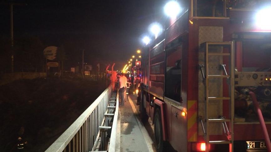 Diyarbakır'da Kent Ormanı girişindeki yangınla ilgili 3 gözaltı