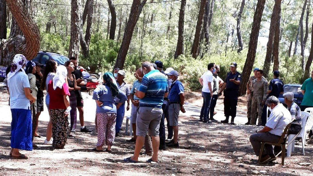 Akbelen ormanlarında gerginlik! Jandarma'dan köylülere: Bölgeyi terk edin