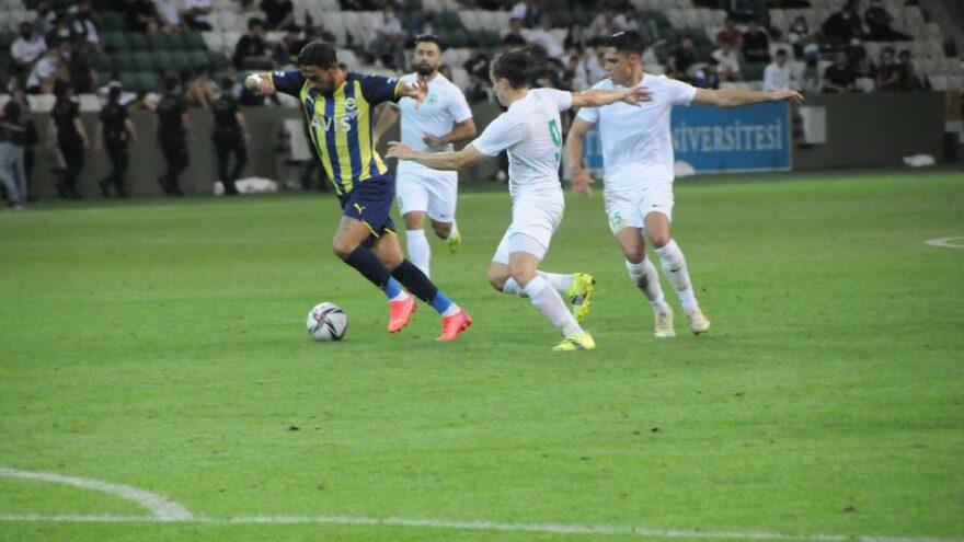 Fenerbahçe yenilgisiz tamamladı