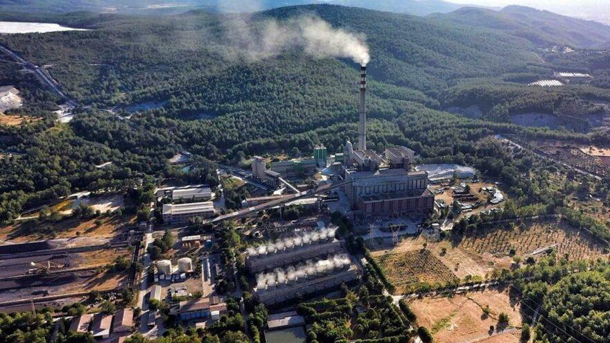 Kemerköy santrali yeniden devreye girdi