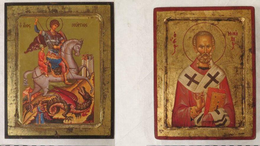 Çalınan ikonalar Barthalomeos'a teslim edilecek