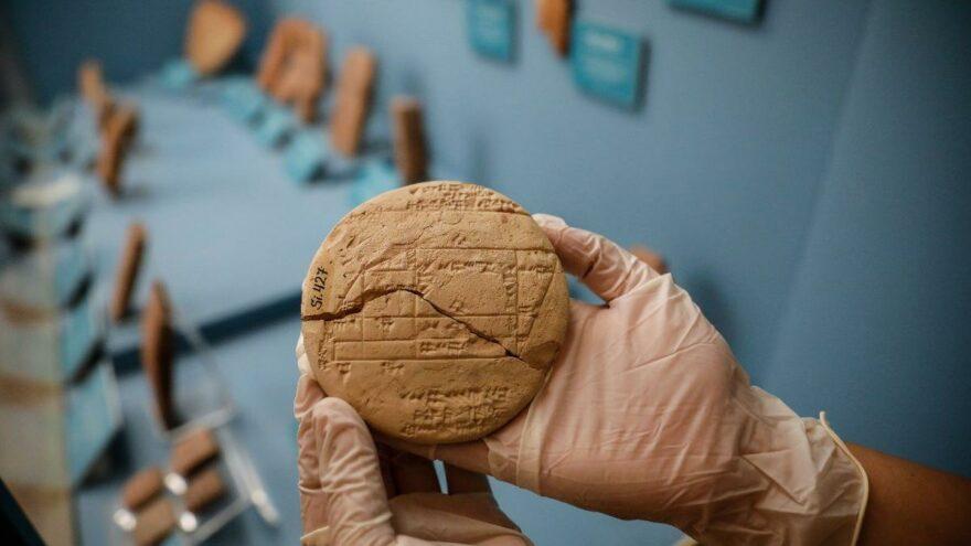 Geometri tarihini değiştirecek 3 bin 700 yıllık tablet