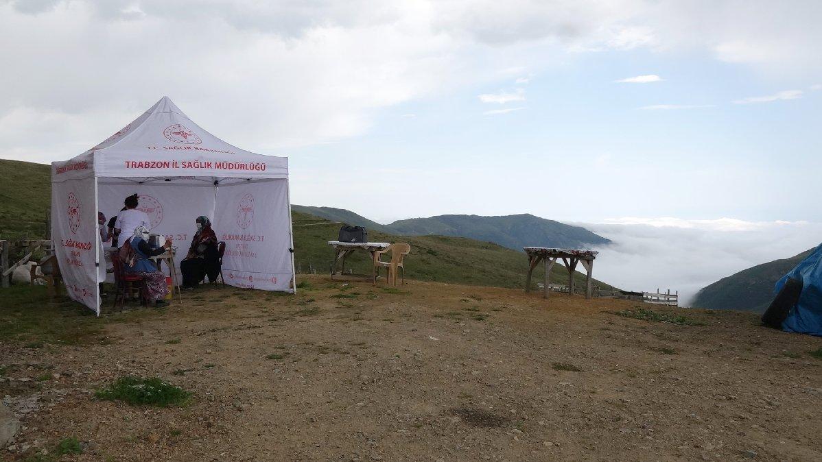 Karadeniz yaylalarında 'aşı' seferberliği