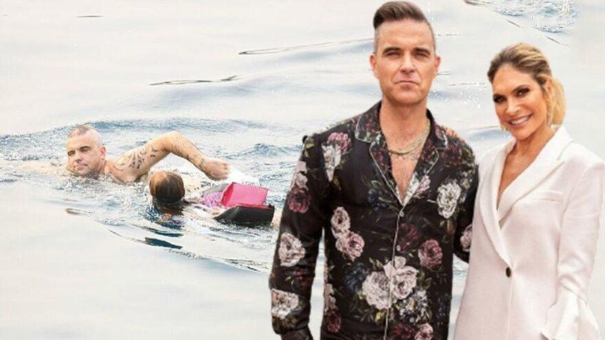 Robbie Williams ve eşinin Türkiye tatili