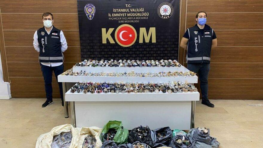 İstanbul'da 2 günde 6.5 milyonluk kaçak ürün ele geçirildi