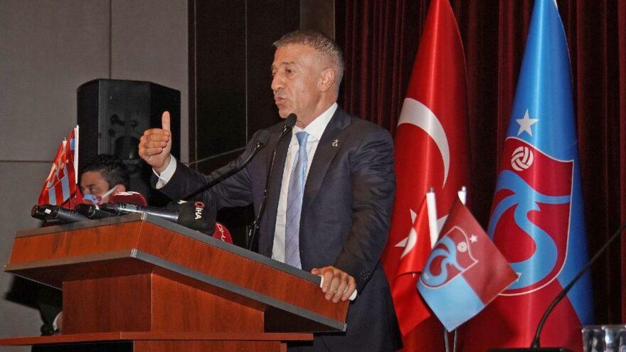 Trabzonspor Başkanı Ahmet Ağaoğlu, transferde Sadri Şener'i yakaladı