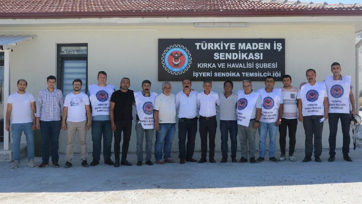Dünyanın en büyük bor üretim tesisinde grev kararı