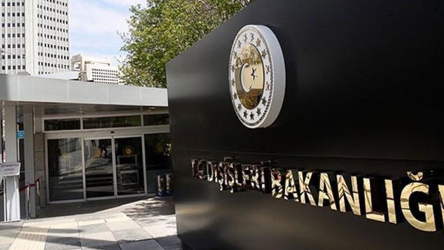 Dışişleri Bakanlığı'ndan İsviçre'de PKK iltisaklı temsilcilik açılmasına tepki