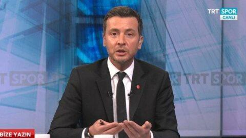 Ersin Düzen TRT'den ayrıldığını açıkladı