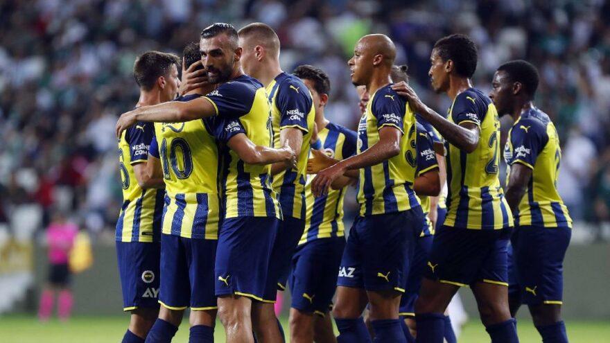 Fenerbahçe takımı gençleşti!