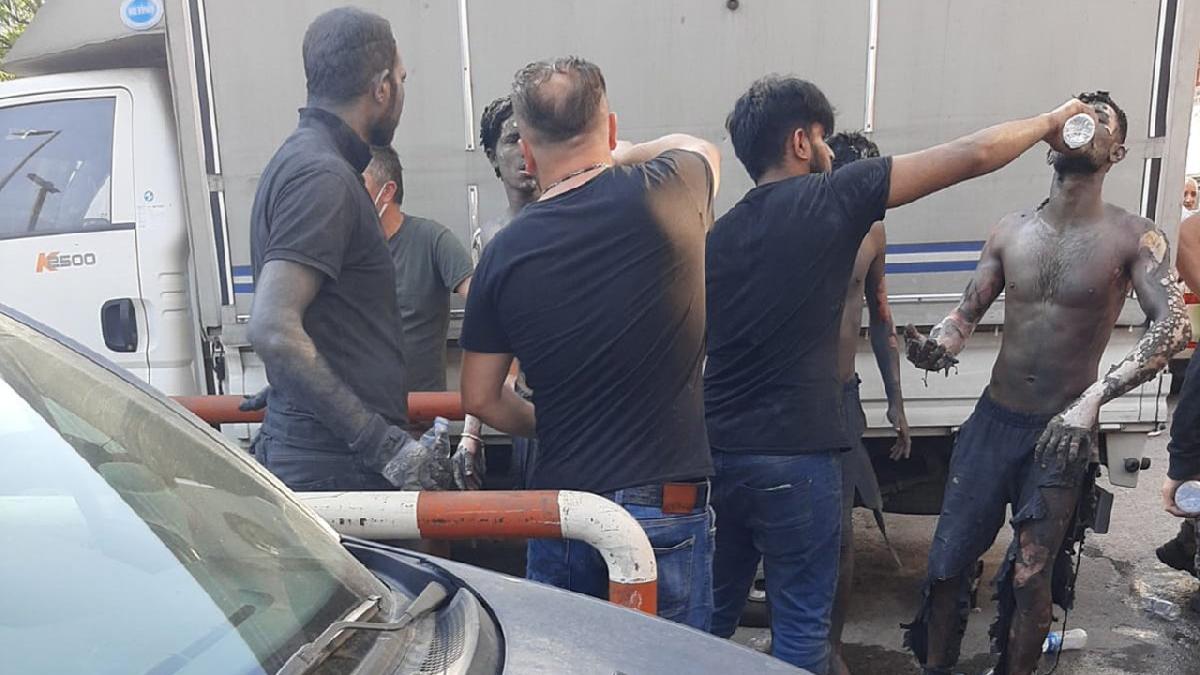 İstanbul'da iş yerinde patlama! Yaralılar var