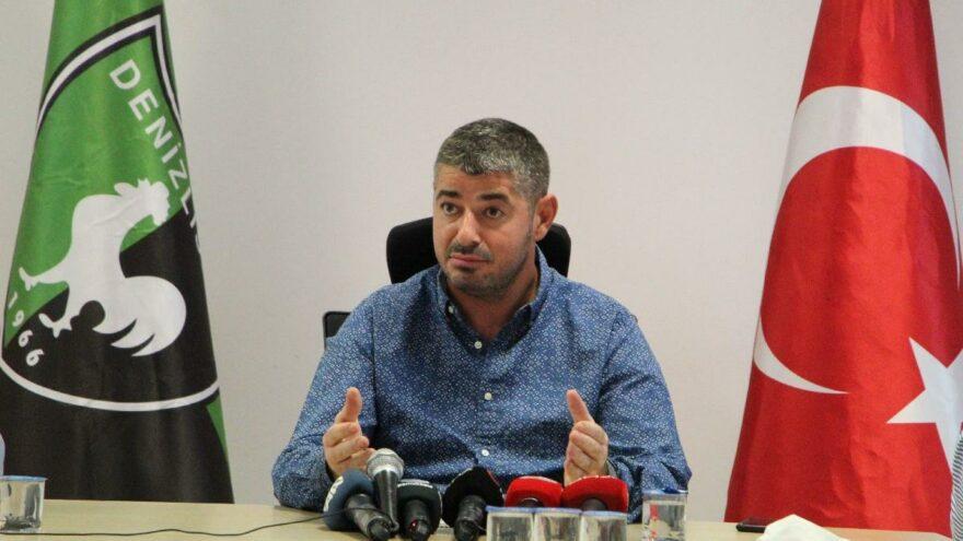 Denizlispor'da transfer yasağının kalkma bedeli 13 milyon TL