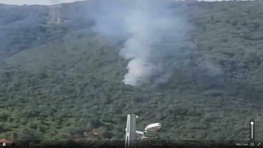 Sarıyer'de orman yangını söndürüldü