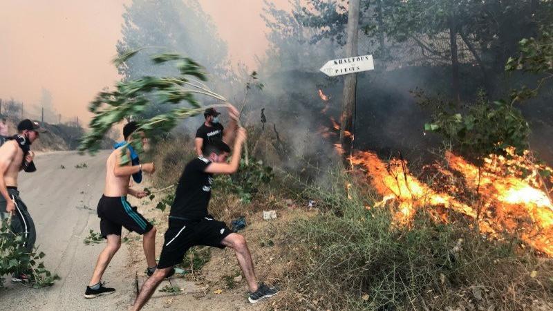 Cezayir'deki orman yangınlarında 25'i asker 42 kişi hayatını kaybetti