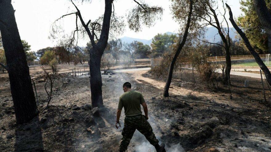 İsrail: Yunanistan'daki yangınlara 3 uçak göndermeyi planlıyoruz