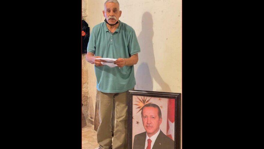 Dükkanına Erdoğan fotoğrafı asan Filistinliye para cezası iddiası
