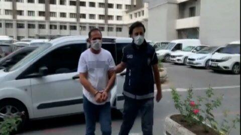 Bir kamyon dolusu kaçak göçmeni sokağa bırakıp kaçan şoför yakalandı