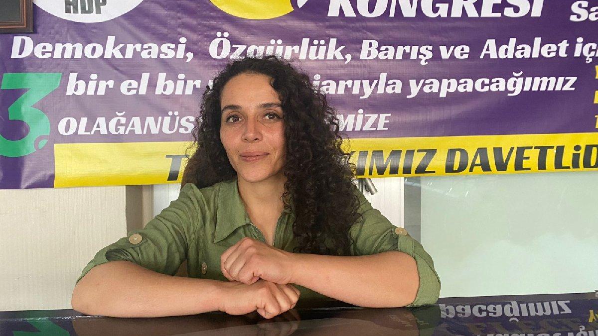 Muş'ta HDP İl Eş Başkanı Nergiz, gözaltına alındı