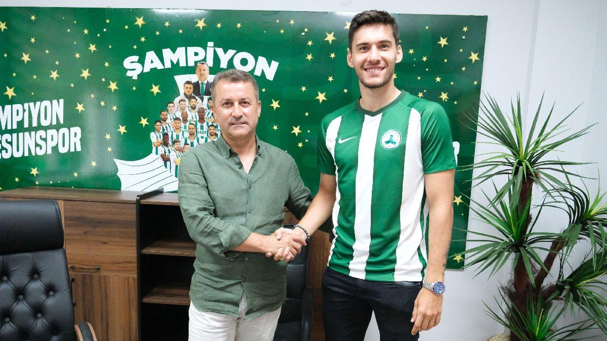 Beşiktaş'tan ayrılan Umut Nayir, Giresunspor'a imza attı