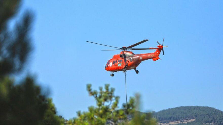 WWF'nin kırmızı helikopteri 4 günde 322 sorti yaptı