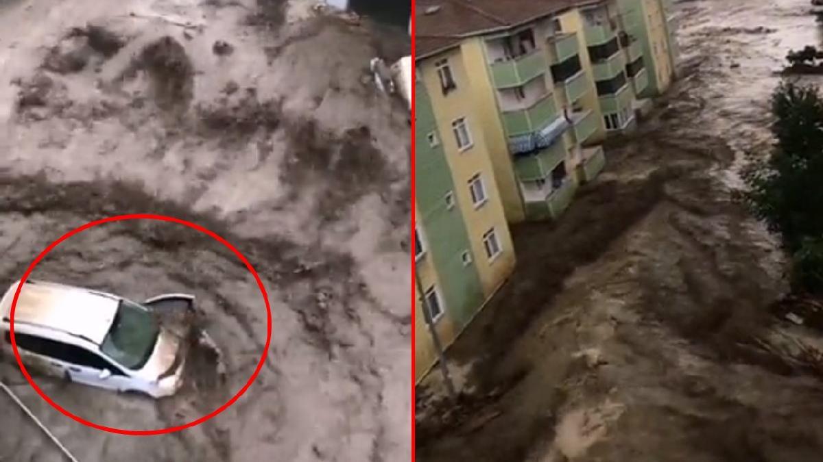 Sel felaketinde dehşete düşüren yeni görüntüler ortaya çıktı