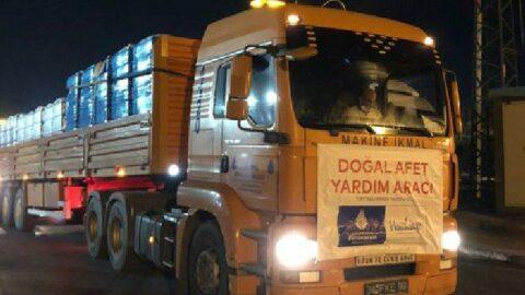 İBB, sel bölgesine kurtarma ekibi ve yardım gönderdi