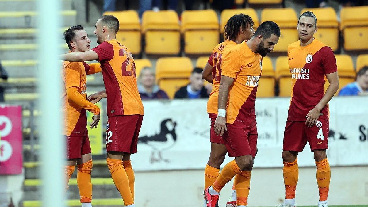 Galatasaray, St. Johnstone deplasmanında turladı! Kerem Aktürkoğlu yıldızlaştı: 2-4