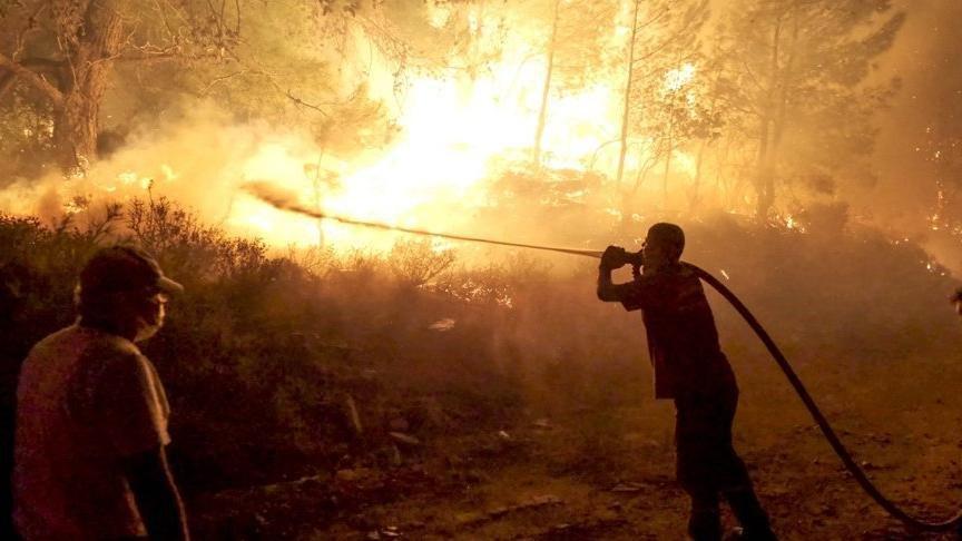 Orman yangınları ve sel felaketi için yardım kampanyası başlatıldı