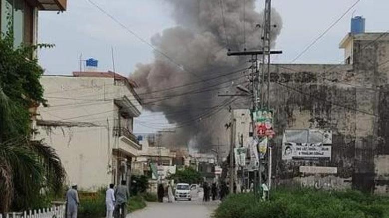 Pakistan'da mühimmat fabrikasında patlama