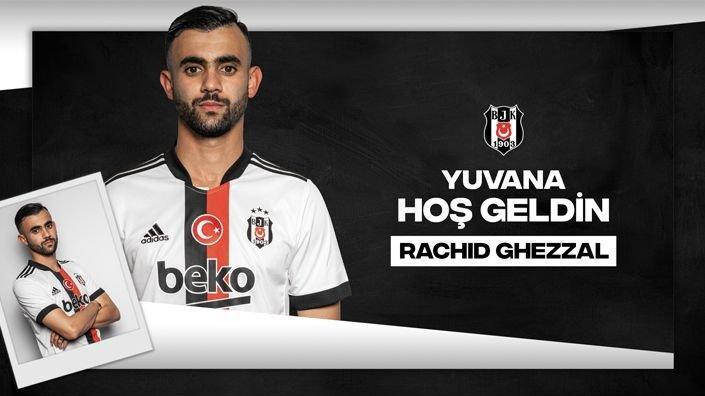 Beşiktaş, Rachid Ghezzal transferini açıkladı! Galatasaray'a gönderme…