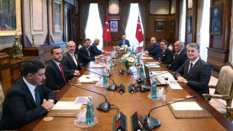 Cumhurbaşkanı Erdoğan, TOGG Yönetim Kurulu üyeleriyle buluştu