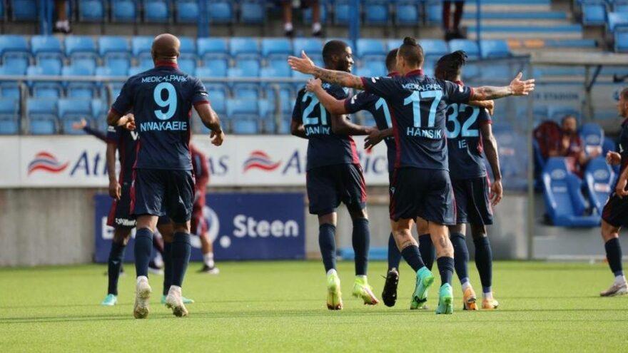 Trabzonspor Molde'yi penaltılarla devirdi, Roma'nın rakibi oldu!