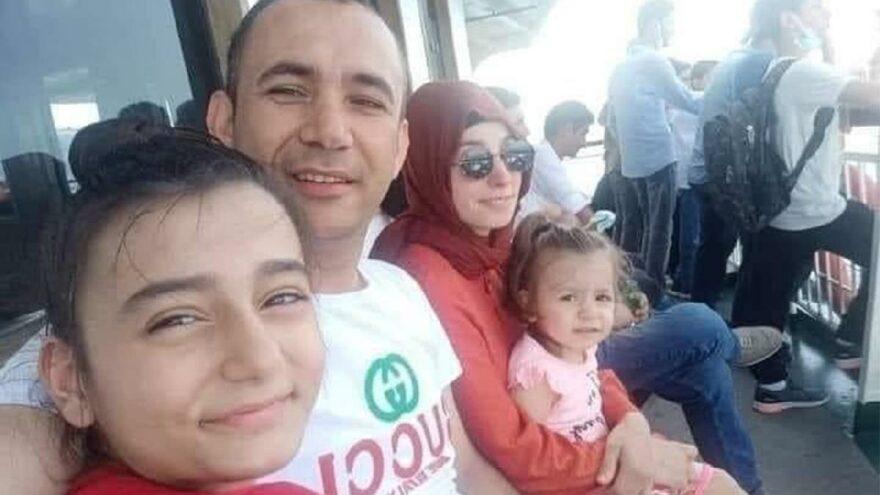 Eşi ve kızlarını kurtarmak isterken sel sularına kapılıp kayboldu