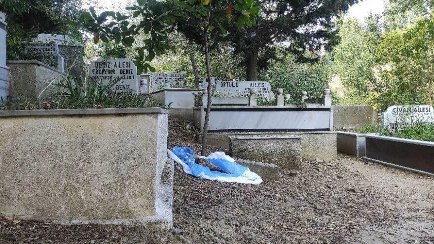 Şişli'de mezarlıkta panik; insan cesedi zannedildi