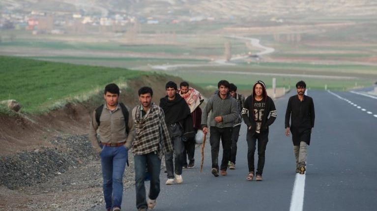 BM'den Afgan göçmenlerle ilgili çağrı : Kapıları açık tutun
