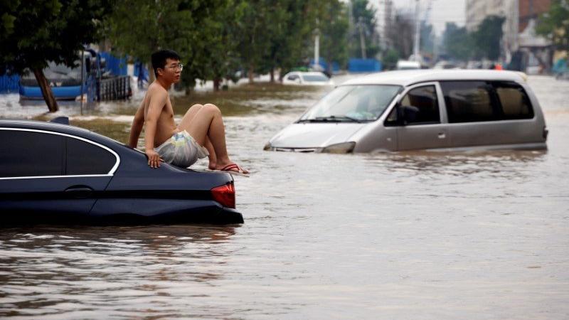 Çin'de sel felaketi: 21 ölü