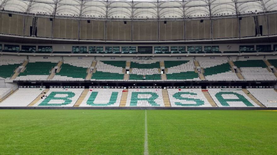 Bursaspor'un stadyumunun ismi değişti