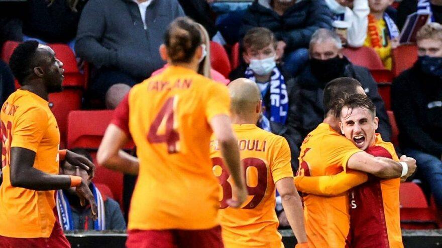Galatasaray, İskoçya'da güneşi gördü!
