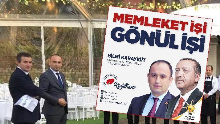 AKP'den aday adayı olduğu belediyenin ihalesini kazandı