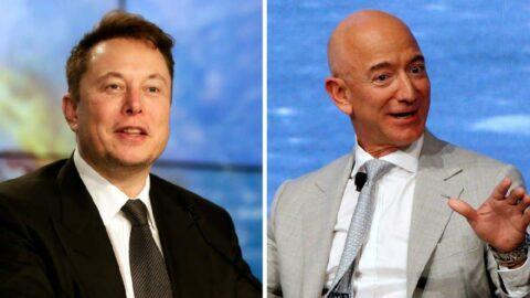 Elon Musk, Jeff Bezos ile alay etti