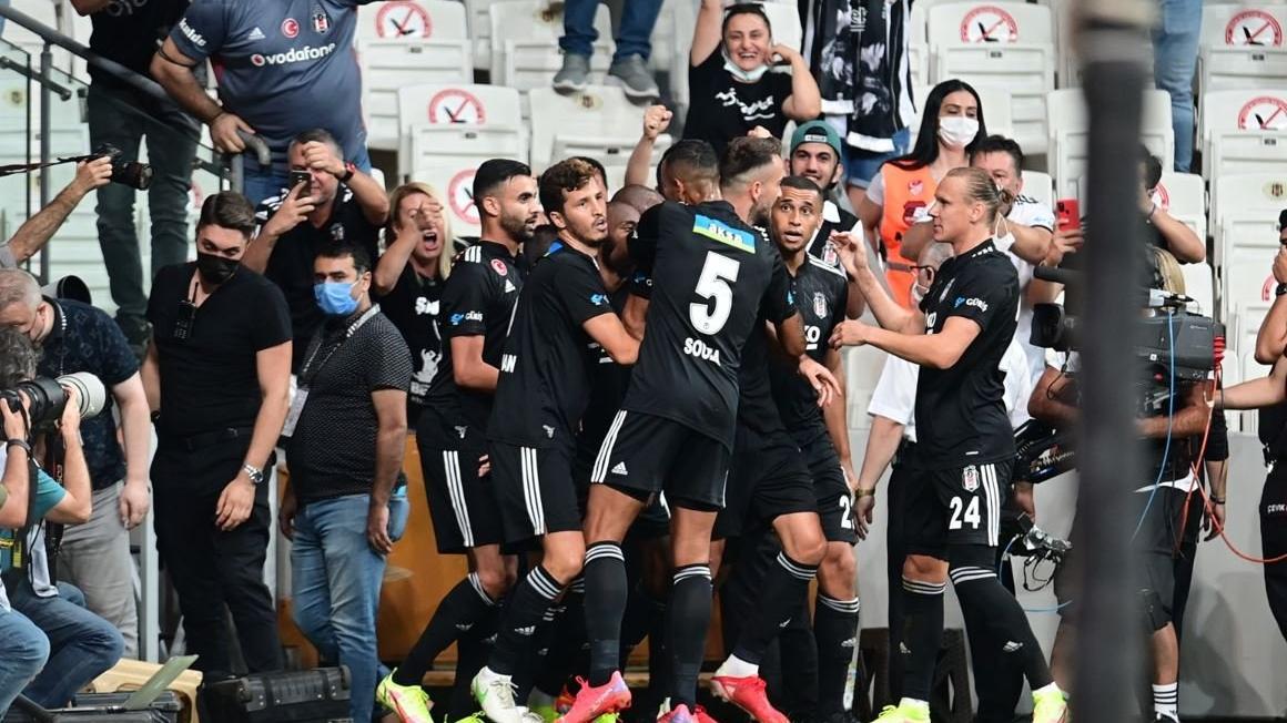 MAÇ SONUCU | Beşiktaş sezon açılışında Çaykur Rizespor'u 3 golle devirdi