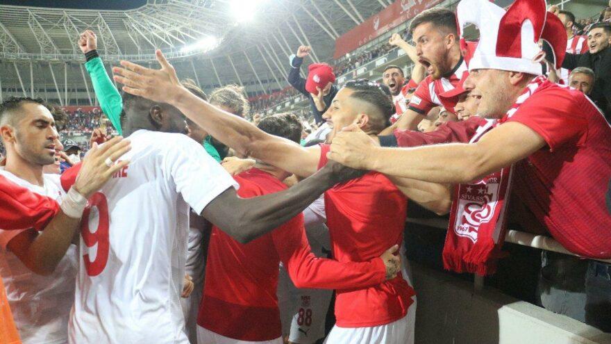 Sivasspor Avrupalı oldu! Mağlubiyet görmediler…
